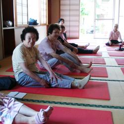 2015年7月10日六郷長寿センターお灸教室2